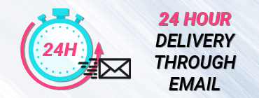 24 hour delivery through email